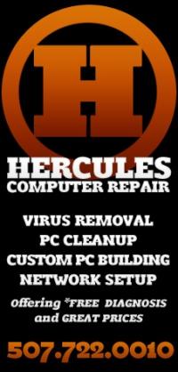 Hercules Computer Repair Rochester MN